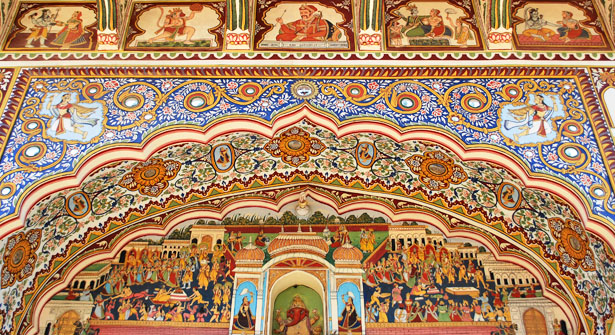 Images of Mandawa India, Pictures of Mandawa Rajasthan, Images of Fresco Paintings of Mandawa Rajasthan, Photos of Mandawa Rajasthan India